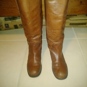 8M Tan Lucky Brand Knee High Boots